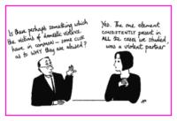 Jacky Fleming Postcard - domestic violence