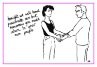 Jacky Fleming Postcard - own people
