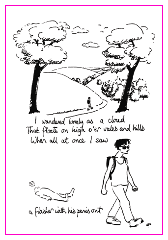 Jacky Fleming Postcard - cloud